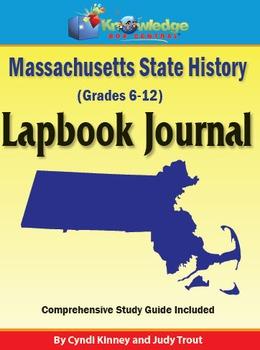 Massachusetts State History Lapbook Journal
