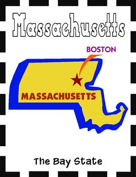 Massachusetts State Symbols and Research Packet