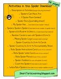 Massive Spider Unit Bundle {Math, Literacy, Science & Games}