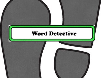 Master Detective Word Study: Long Vowels