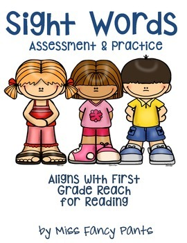 Master Your Sight Words! - Reach for Reading First Grade