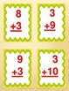+3 Addition Facts Practice & Assessments