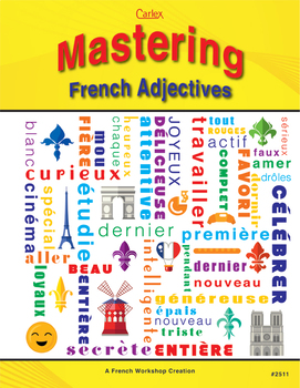 Mastering French Adjectives - Digital Files
