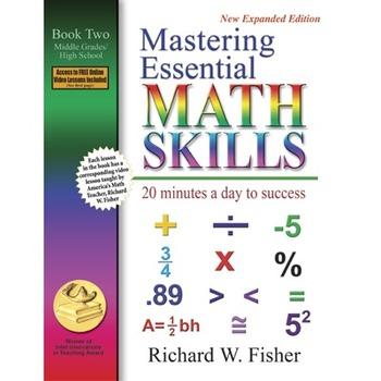 Mastering Math Essentials Book 2 *FREE ONLINE VIDEO TUTORIALS*