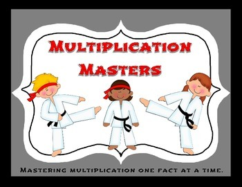 Mastering Multiplication Facts- by level of difficulty