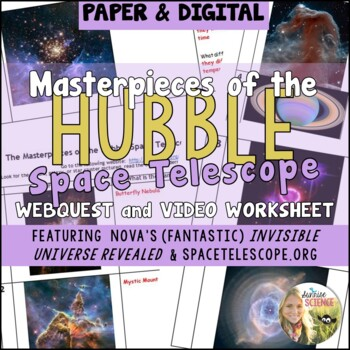 Masterpieces of the Hubble Space Telescope Webquest and Vi