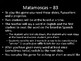 Matamoscas (Realidades I - 8B)