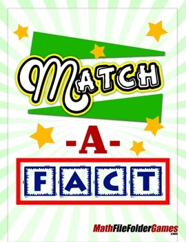 Match A Fact - Addition Game