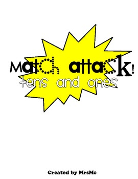 Match Attack!: Tens and Ones