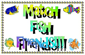 Match Fish Friends!!
