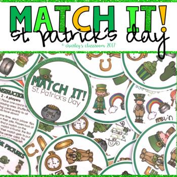 Match It! - St. Patrick's Day