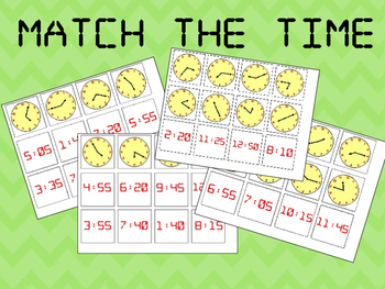 Match The Time