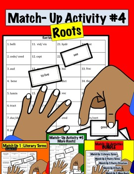 Match Up Activity #4 ROOTS