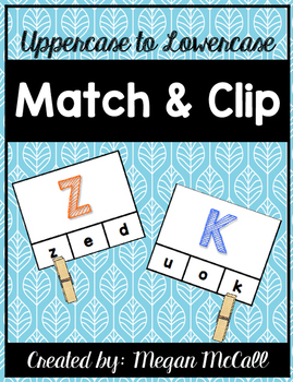 Match and Clip-Uppercase to Lowercase Letter Matching