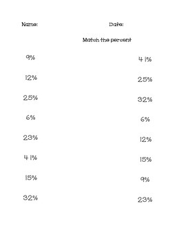 Match percentages AAA 10.2