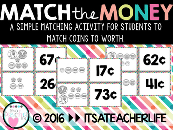 Match the Money   Counting Coins