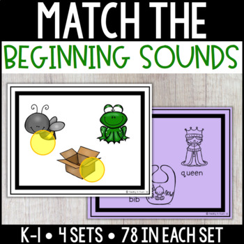 Match the Beginning Sounds