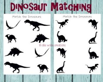 Match the Dinosaurs