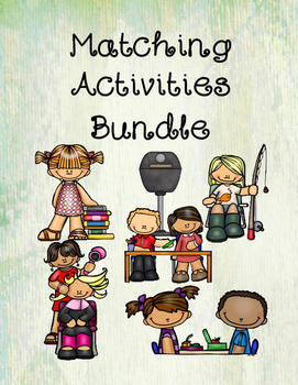Matching Activities Bundle