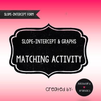 Matching Activity Graphs and Slope Intercept Equations TEK