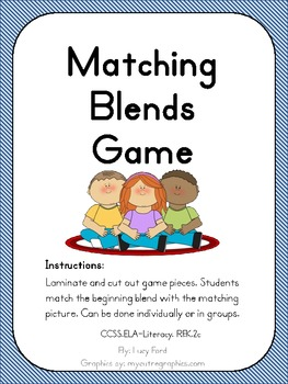 Matching Blends Game