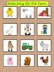 Matching Boards with Picture Cards: Special Education; Aut