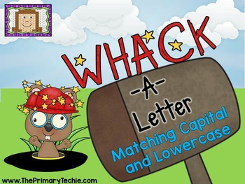Matching Capital and Lowercase Letters