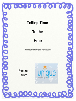 Matching Clocks to the Hour