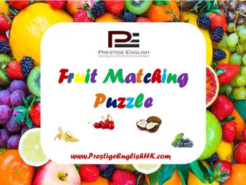 Matching Game - Fruit
