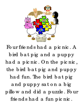 Matching Game Sight Word Short Story Trace Write Words Tra