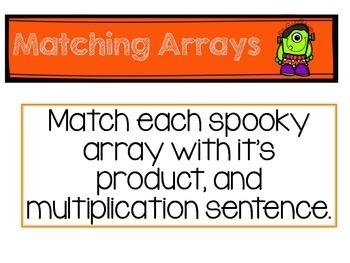 Matching Halloween Arrays