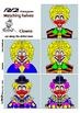 Matching Halves Clowns