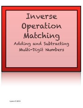 Matching: Inverse Operations