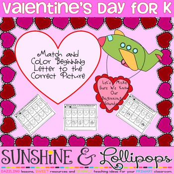 Valentine's Day Activity Freebie for Pre K-1
