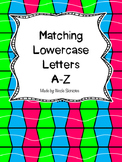 Matching Lowercase Letters A-Z