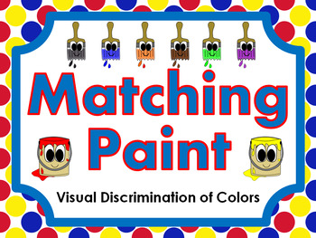 Matching Paint • Visual Discrimination of Colors • File Fo