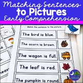 Matching Sentences to Pictures: Early Comprehension Activi
