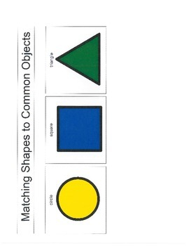Matching Shapes to Common Objects