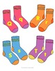 Matching Socks! Upper and Lower Case Letter Recognition Game