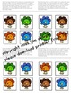 Matching Folder Game: Simple Turkey Colors for students wi
