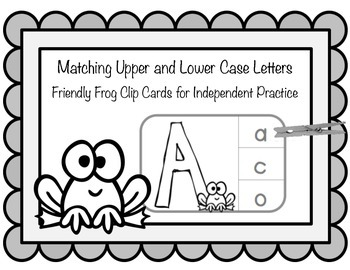 Matching Upper & Lowercase Letters: Independent Practice C