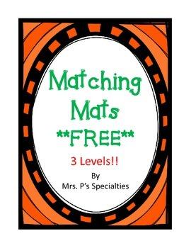 Matching mats **FREE**