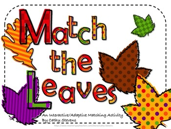Free! Matching the Leaves - An Interactive and Adaptive Ma