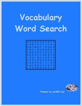 Materiali (materials in Italian) differentiated wordsearch