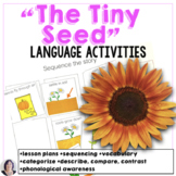 Materials for The Tiny Seed- special education modifications