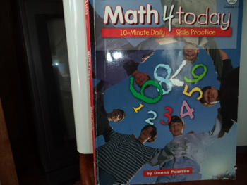 Math 4 Today                ISBN# 1-56417980-x