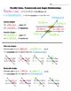 Math 8 Guided Interactive Math Notebook (Bundle): Angle Pa