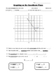 Math 8 Guided Interactive Math Notebook Page: The Coordina