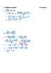 Math 9 Quiz: Multiplying & Dividing Polynomials Quiz with