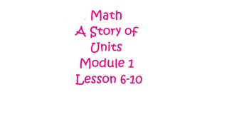 Math A Story of Units Grade 3 Engage New York Module 1 Les